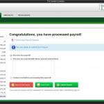 PlatinumPay Xpress - Payroll Totals Screenshot